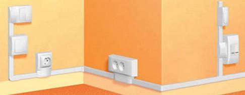 Как провести проводку в комнате