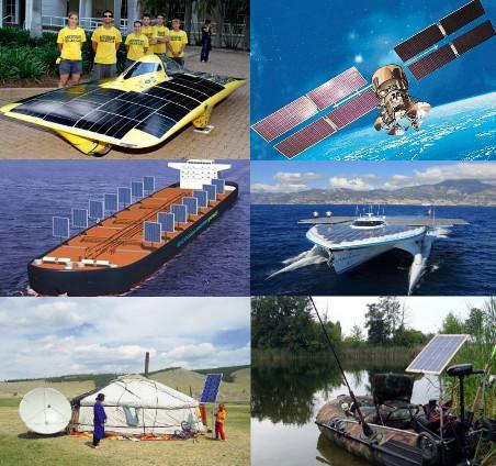 Безграничное применение солнечных батарей