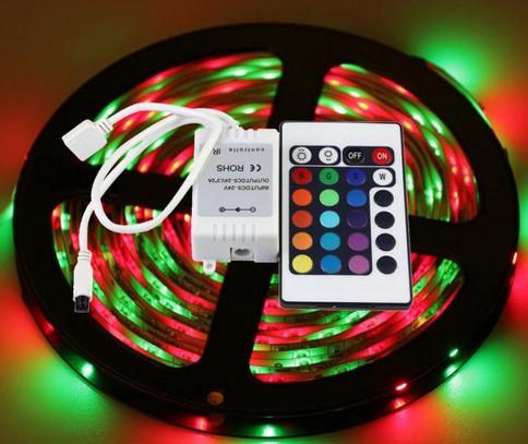 пульт управления освещения - светодиоды