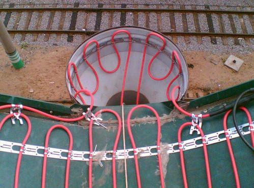 Нагревательный кабель для водостока