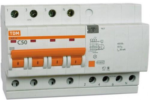 диффавтомат - устройство защиты