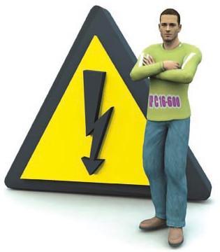 для человека опасно не высокое напряжение, а сила проходящего через него тока