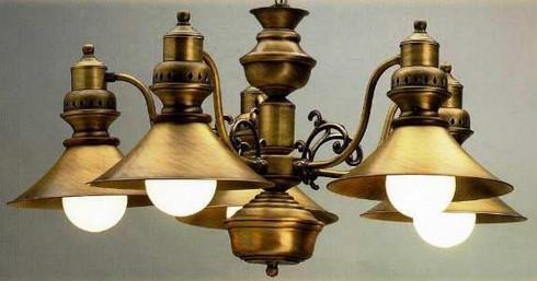 Люстры в стиле ретро в современном дизайне освещения