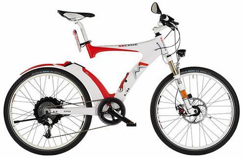 Электрические велосипеды M1 Secede1