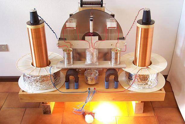 Атмосферное электричество - лабораторный вариант