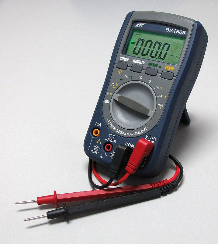 Мультиметр для измерения напряжения в сети