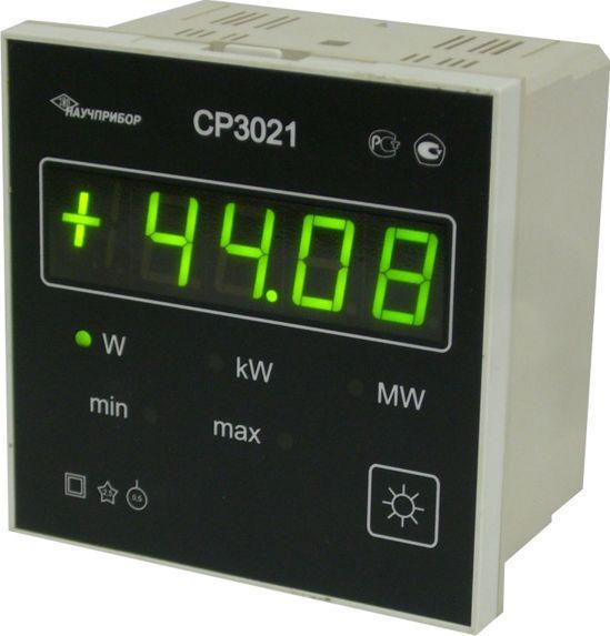 Щитовой ваттметр для измерения тока