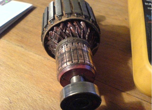 Ремонт коллекторных электродвигателей