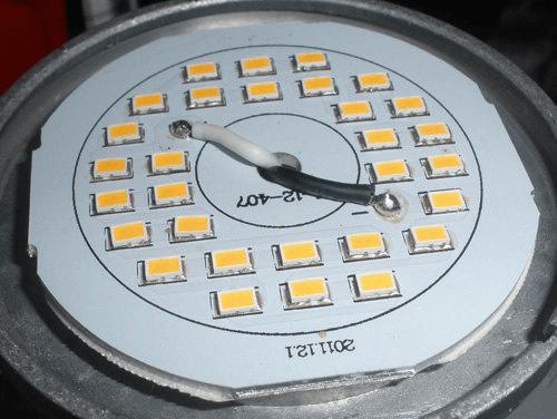 Светодиодная лампа без рассеивателя