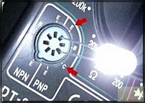 Проверка светодиодов мультиметром