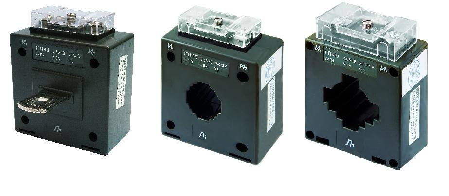 Варианты конструктивного исполнения трансформаторов тока до 1000 В