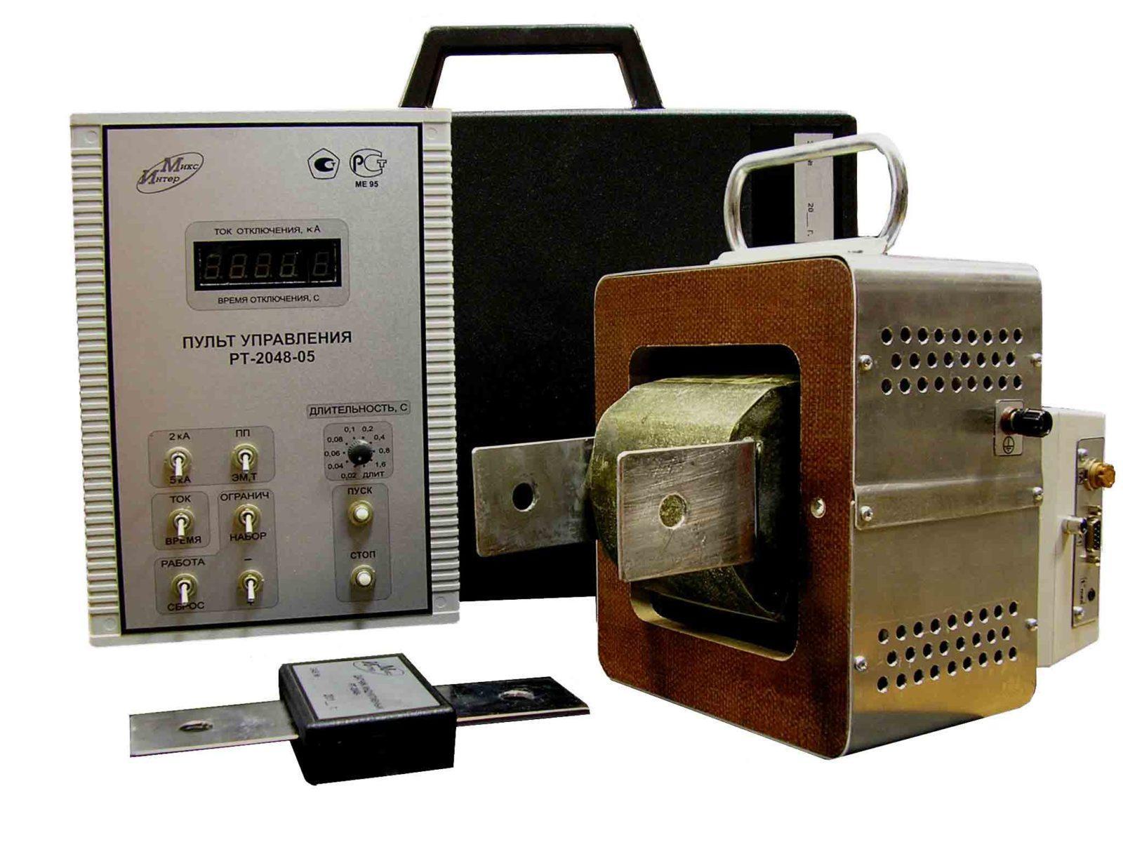 Устройство для проверки автоматов РТ-2048