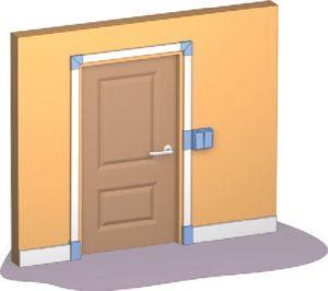 Как обойти дверной проем