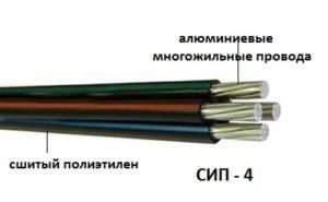 Основные особенности кабеля СИП-4