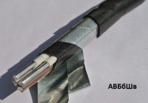 Основные характеристики кабеля АВБбШв
