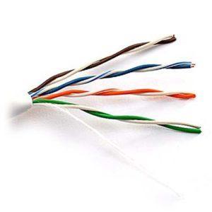 Внешний вид кабеля с витыми парами КВП