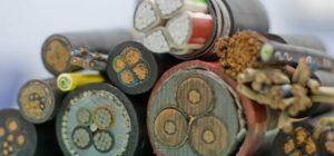 Отдельные разновидности силовых кабелей