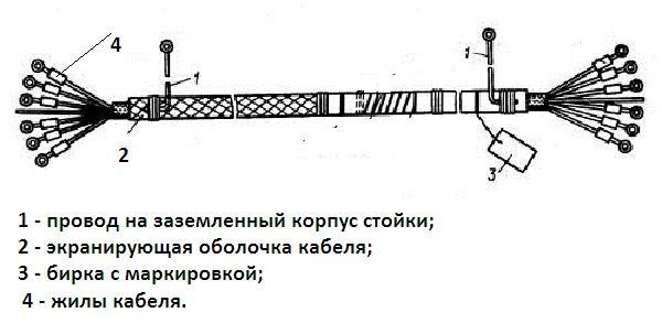 Схема подключния