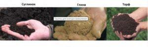 Различные виды почв
