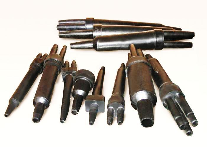 Примеры металлических ответвительных муфт