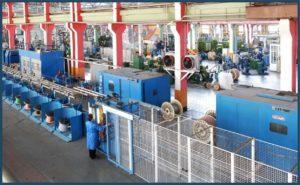 Завод по выпуску кабелей и проводов