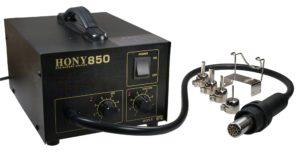 Бесконтактная малогабаритная паяльная станция HY-850