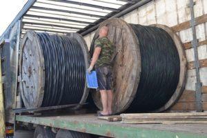 Перевозка и хранение силового кабеля АСБ