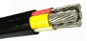 Силовой 4-х жильный кабель АВВГ с многопроволочными токоведущими жилами