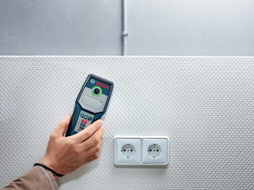 Внешний вид зарубежного детектора проводки в стене Bosch GMS-120