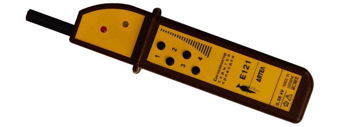 Внешний вид прибора Е-121 «Дятел», созданного для поиска скрытых проводов