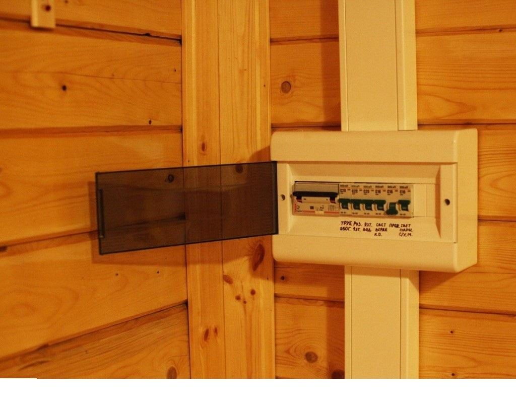 Коробка-автомат для отключения подачи электроэнергии