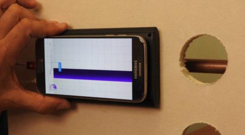 Сканер Walabot DIY выводит на экран точное местонахождение скрытого проводника