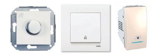 Кнопочные выключатели для использования в цепи импульсного реле