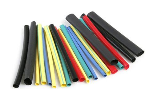 Цветные кембрики для производства маркировки проводов своими руками