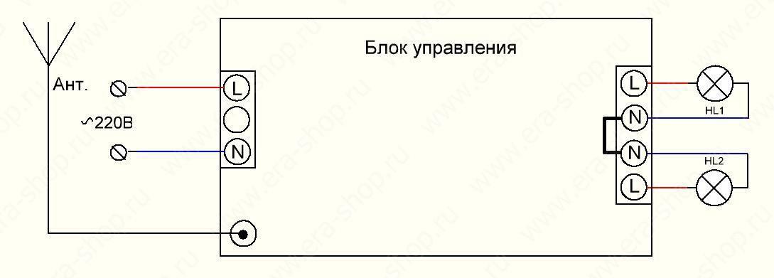 Схемы дистанционного управления выключателя
