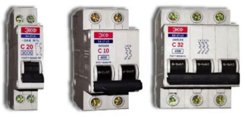 Защитная аппаратура для электрической проводки работающая в режиме автоматического срабатывания