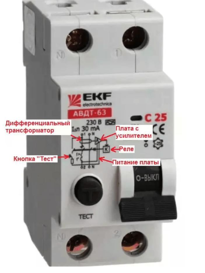 УЗО электронное или электромеханическое