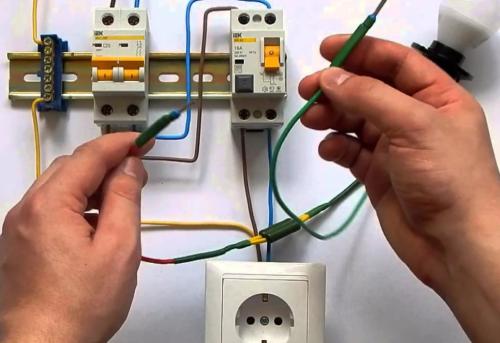 Выяснение причины срабатывания автомата при коротком замыкании в контролируемой сети