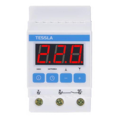 УЗИП TESSLA D40 имеет три пары контактов и транзисторы без пластин
