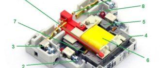 Внутреннее устройство МК с указанием его основных частей