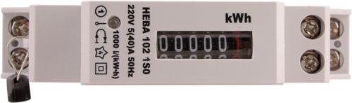Компактная модель электросчетчика Нева 102 1S0 устанавливается в электрощитках даже с небольшими габаритами