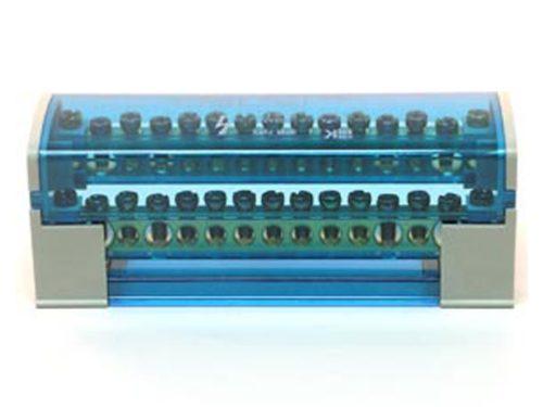 Нулевой кросс-модуль с прозрачной защитной крышкой из высококачественного затухающего ПВХ-материала