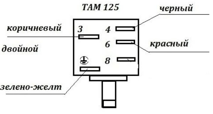 Схема подключения датчика температуры в холодильнике