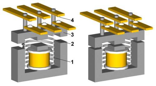 По устройству трехфазные магнитные пускатели нельзя отнести к сложным конструкциям