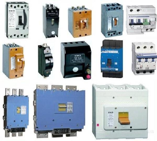Подключение автоматических выключателей