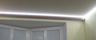 Универсальность применения светодиодного полотна позволяет придавать ему любую желаемую форму