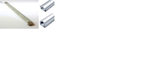 Профиля, использующиеся для установки светодиодных лент и панелей на неровные поверхности