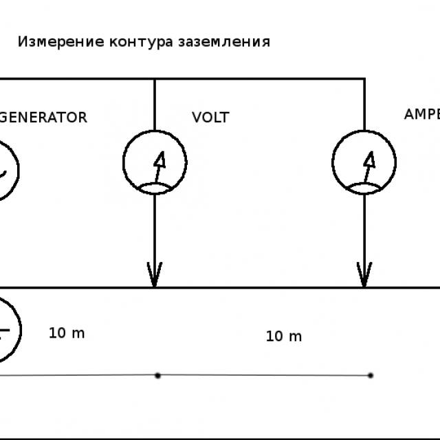 Один из примеров схемы преобразователя для светодиодных прожекторов